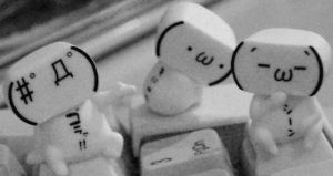 miniture ppl on da key board by da-snowman