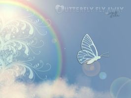 butterfly fly away by zulemaripoza