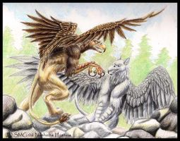 The Gryphon of White Mountain by Nashoba-Hostina