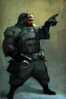dwarf swat unit by slipgatecentral