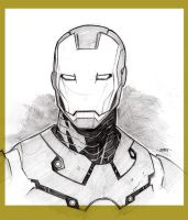 Avenger a Day - Iron Man by beastboyjoe