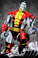 Colossus - punisherone - trinitymathews - me by pascal-verhoef