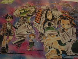 Shaman king BANZAI poster by Nightout6