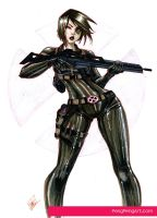 domino commission by Peng-Peng