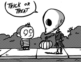 Trick or treat by Ikrus