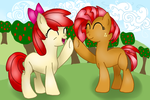 Apple Bloom and Babs Seed by cooler94961