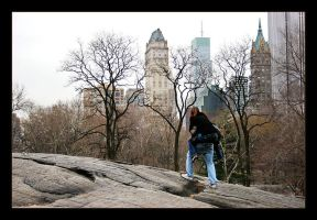 Central Park Romance by th3rdeye