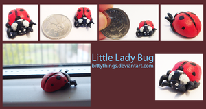 Little Lady Bug - SOLD by Bittythings