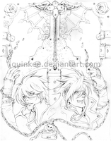 Guilty Gear - Sol x Ky by quinkee