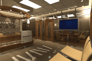 Office  Entrace 02 by samehbenis