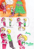 Merry Christmas-USUK- by Smilexdraw