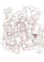 Final Fantasy IX by Sam-san