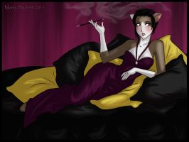 ..Cigarette.. by x-holic