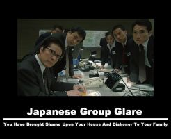 Japanese Group Glare by IntellectualDeviant