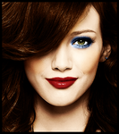 Hilary Duff Colourisation by LeahPoynter