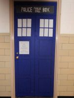The Tardis Door by Mizu-Mitsuname