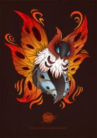Volcarona by StoicSquid
