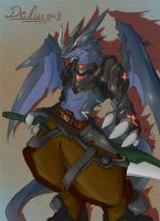Delucous the Black Dragoon by dragoon86
