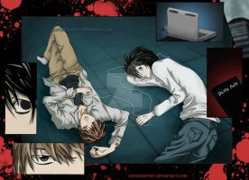 Death Note - Mind Games by cersseilanner
