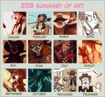 2013 summary of art by JackPot-84