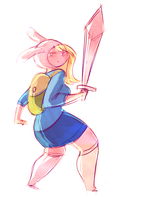 Fionna the Human by pai-draws