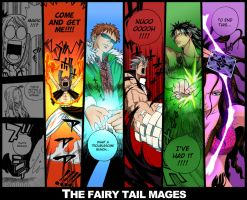 Fairy Tail Mages by Akatsu