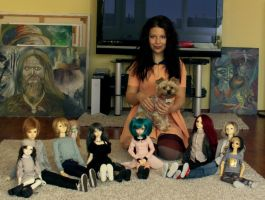 My BJDs and I . by HajimeKou
