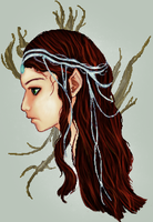 Lothlorien Elf by bleeding-marble