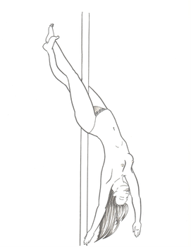 Pole Dancer 1 by kkskipper