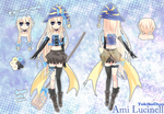 Ami Lucinell Reference [Witch form] by KarameruYukika
