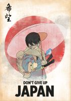 don't give up Japan by cromArt