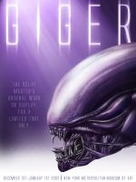 HR Giger Poster by kridian