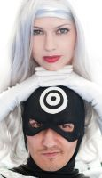 Bullseye and Silver Sable by Miracole
