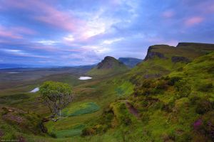 Quiraing Sunset by Dave-Derbis