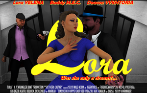 Lora: Was she only a dream? (Poster two-sheet) by vwrangler