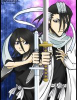 ByaRuki - Kuchiki Combination by yumekage