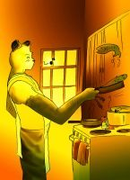 The Panda Cook by IIIXandaP