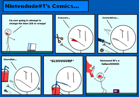 More wii comics by guirrmo