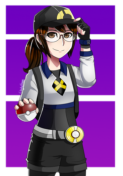 Pokemon Go Trainer by Cloudy-Eevee