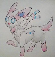 Sylveon by Supercyborgdino