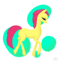My first Digital Pony by Alcorexic92