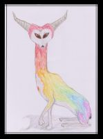 The Rainbow Antelope by Kif3