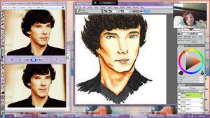 Sherlocked WIP by mdnght1