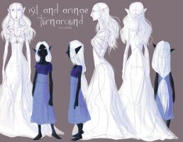 Isil and Arinae Turnaround by imperiusunforgivable