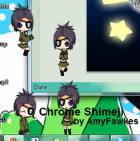 Chrome Dokuro Shimeji by AmyFawkes