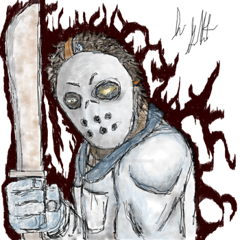 Mr.Voorhees (WIP) by LOWxSTANDARD
