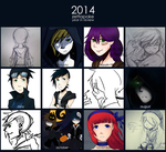 2014 - Year in Review by zettapoke