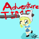 Adventure Time: Fionna Chibi by sugarbitz101