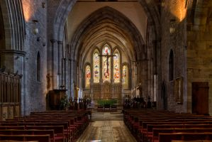 Brecon Cathedral 2 by CharmingPhotography