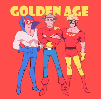 golden age speedsters by oooooooosushi